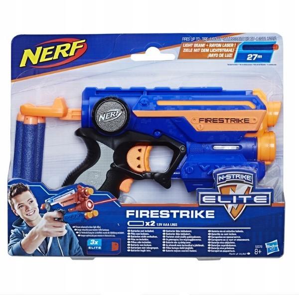 box Nerf Elite FireStrike синий (53378)
