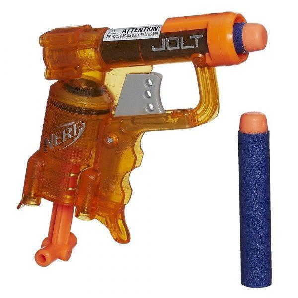 Бластер Nerf Elite Jolt оранжевый (A8064)