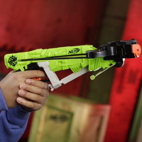 зеленый Nerf Zombie Strike Wrathbolt (E0004)