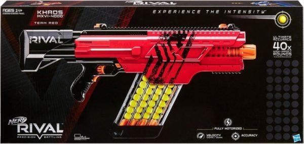 box Nerf Rival Khaos MXVI-4000 Красный (B3859)