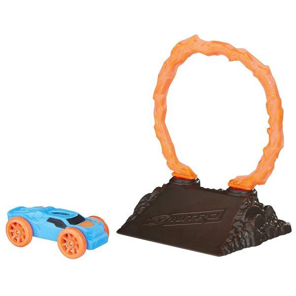 Машинка Nerf Nitro с препятствием FlameFury (E1269)