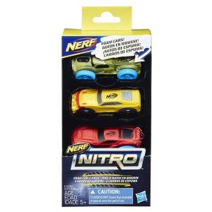 pack Набор из трех машинок Nerf Nitro 7 (E1235)