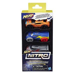 Набор из трех машинок Nerf Nitro 3 (C0777) pack