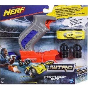 pack Nerf Nitro ThrottleShot Blitz с серой рукоятью (C0782)
