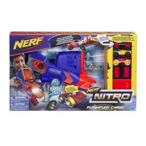 Бластер Nerf Nitro FlashFury Chaos (C0788) box