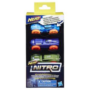 pack Набор из трех машинок Nerf Nitro 8 (E1236)