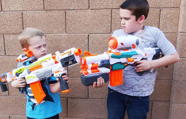 Бластер Nerf для дошкольников