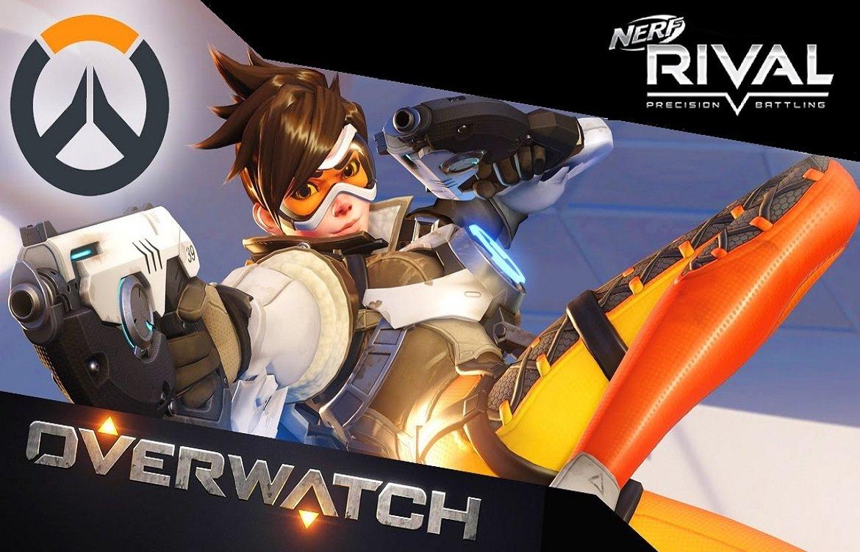 Новинки Nerf: Rival Overwatch