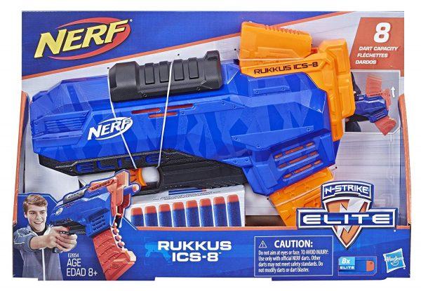 box Nerf Elite Rukkus ICS-8 (E2654)