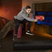 Пистолет Nerf Mega Bulldog (E3057) красный