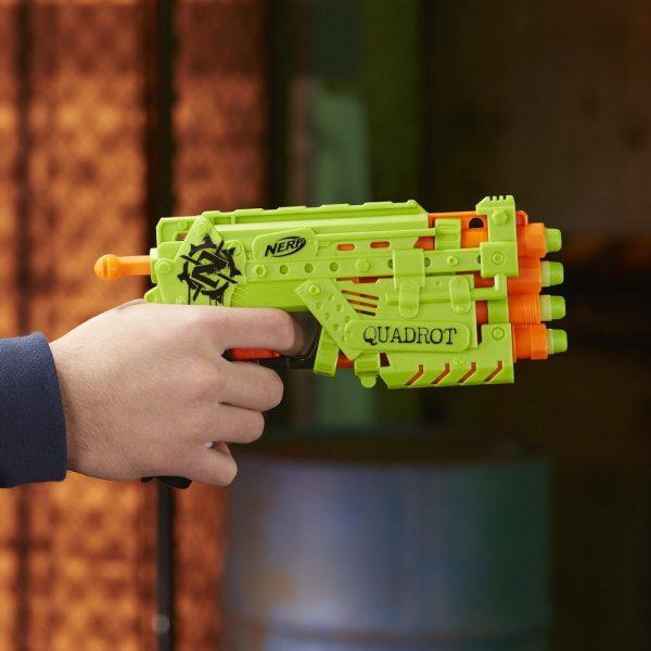 Пистолет Nerf Zombie Strike Quadrot (E2673)