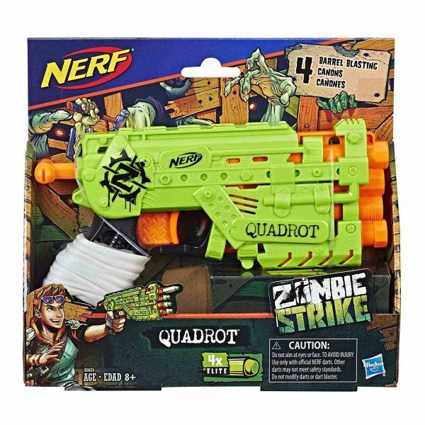box Nerf Zombie Strike Quadrot (E2673)