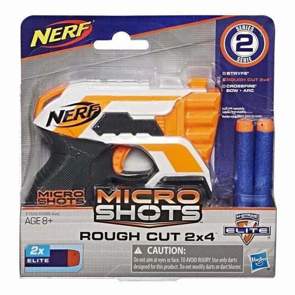box Nerf MicroShots Elite Rough Cut (E1626)