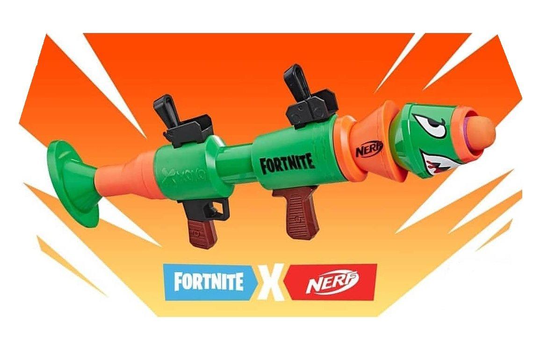 Новинки Nerf бластеры Fortnite