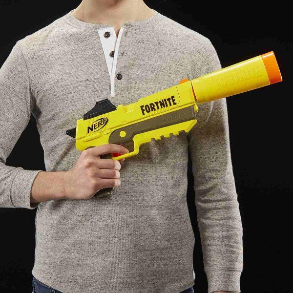 Пистолет Нерф Фортнайт SP-L желтый (E6717)
