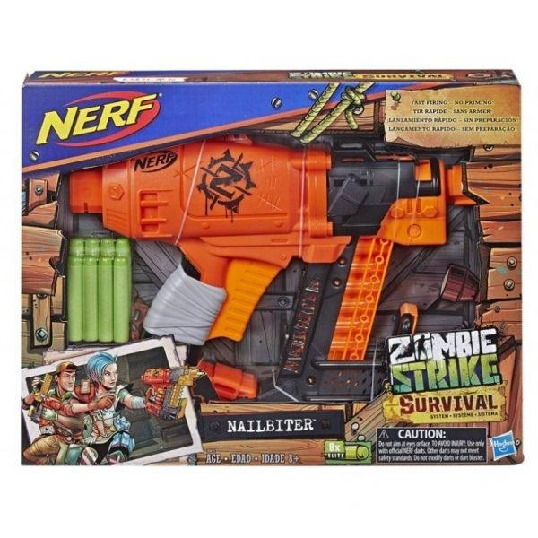 box Nerf Zombie Strike Nailbiter (E2672)