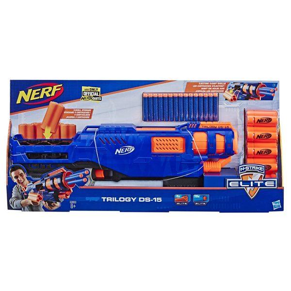 box Nerf Elite Trilogy DS-15(E2853)