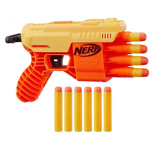 Бластер Nerf Alpha Strike Fang QS-4 (E6973)