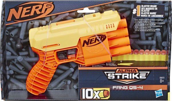 box Nerf Alpha Strike Fang QS-4 (E6973)
