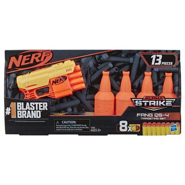 Nerf Alpha Strike Fang QS-4 (E8308) box