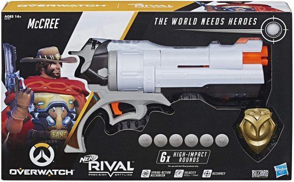 Nerf Rival Overwatch McCree (E3121) box