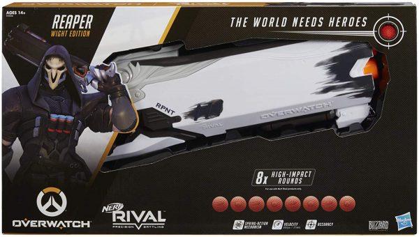 Nerf Rival Overwatch Reaper (E5026) box