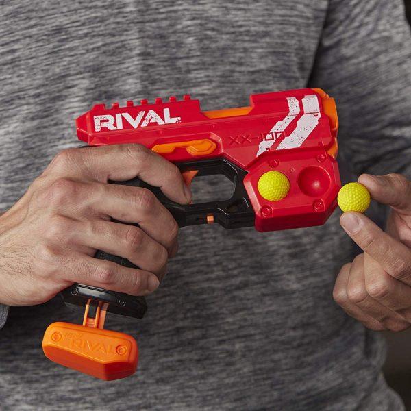 Пистолет Nerf Rival Knockout (E6218) красный