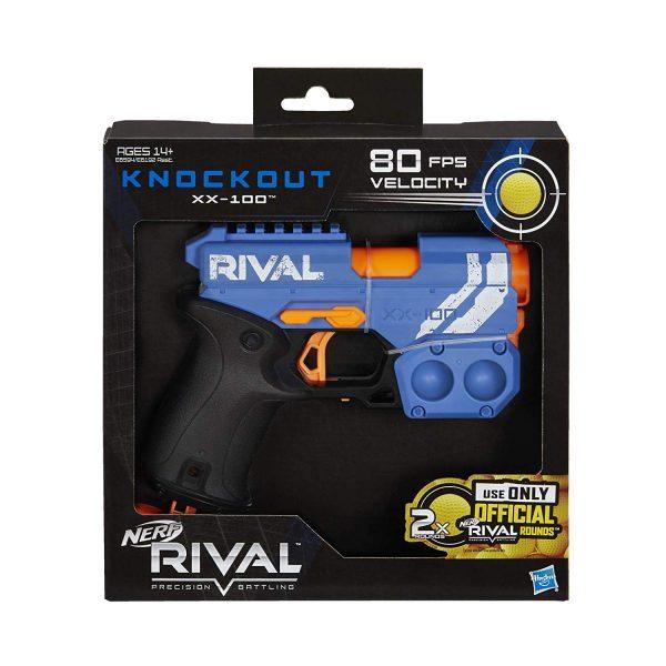 Nerf Rival Knockout XX 100 Синий (E6594) box
