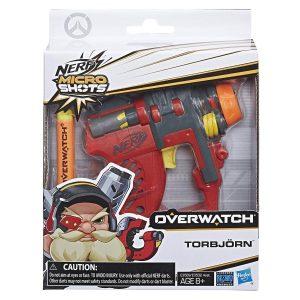 Nerf MicroShots Overwatch Torbjorn (E3569) pack