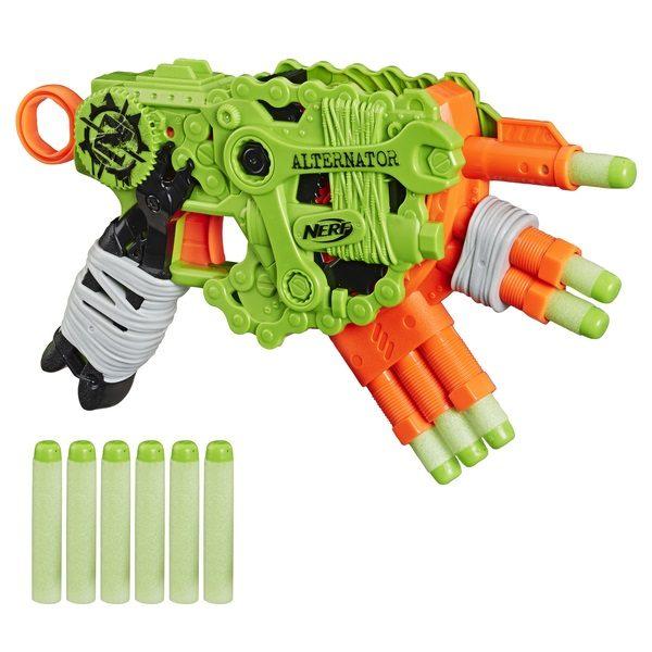 Бластер Nerf Zombie Strike Alternator (E6187)