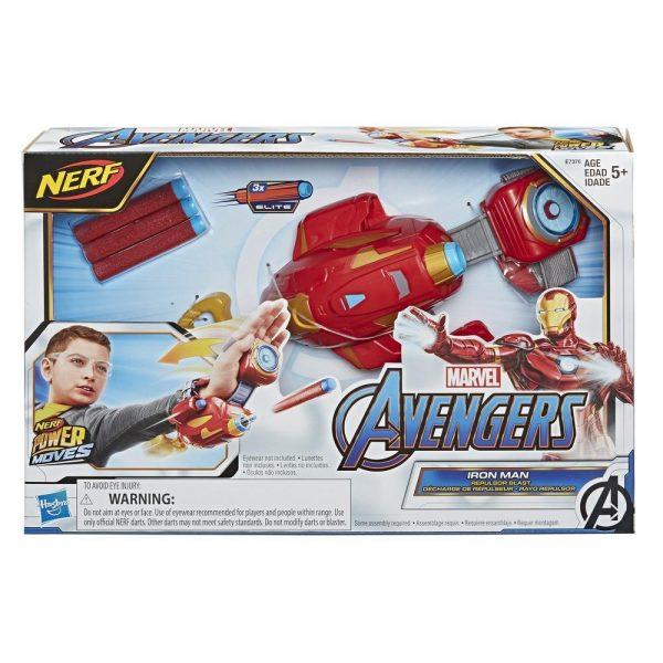 Nerf Marvel Iron Man Repulsor (E7376) box