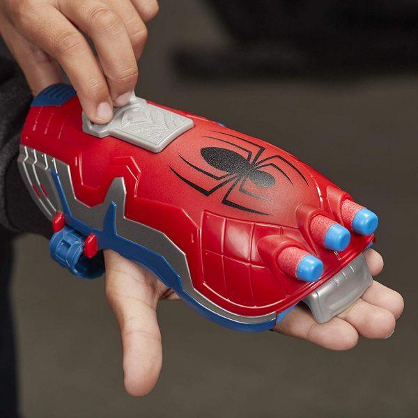 Бластер перчатка Nerf Человек Паук (E7328)