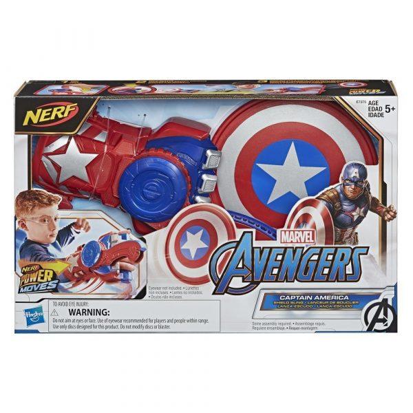 Nerf Marvel Captain America (E7376) box