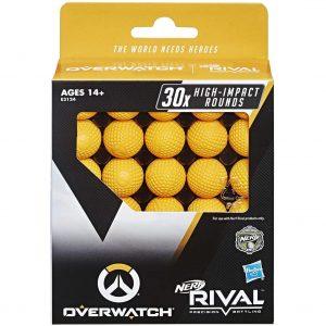 Nerf Rival Overwatch ammo 30 шариков (E3124)