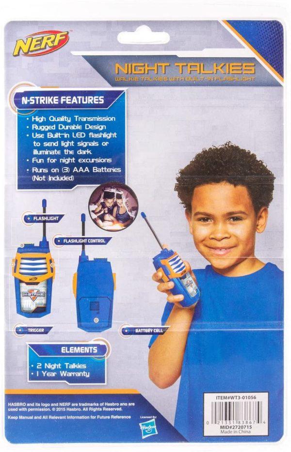 radio set Nerf (WT3-01056) box back