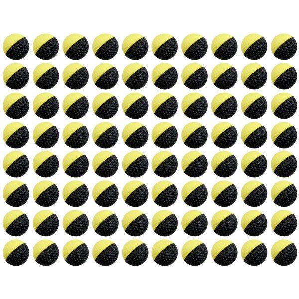 Nerf Rival, 80 черно желтых шариков (E4101)